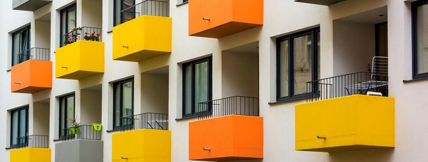Multi-family unity balconies