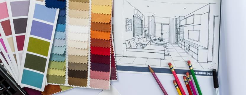 home interior design in progress